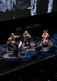 Performance Santa Fe<br>A Thousand Thoughts: A Live Documentary with the Kronos  Quartet
