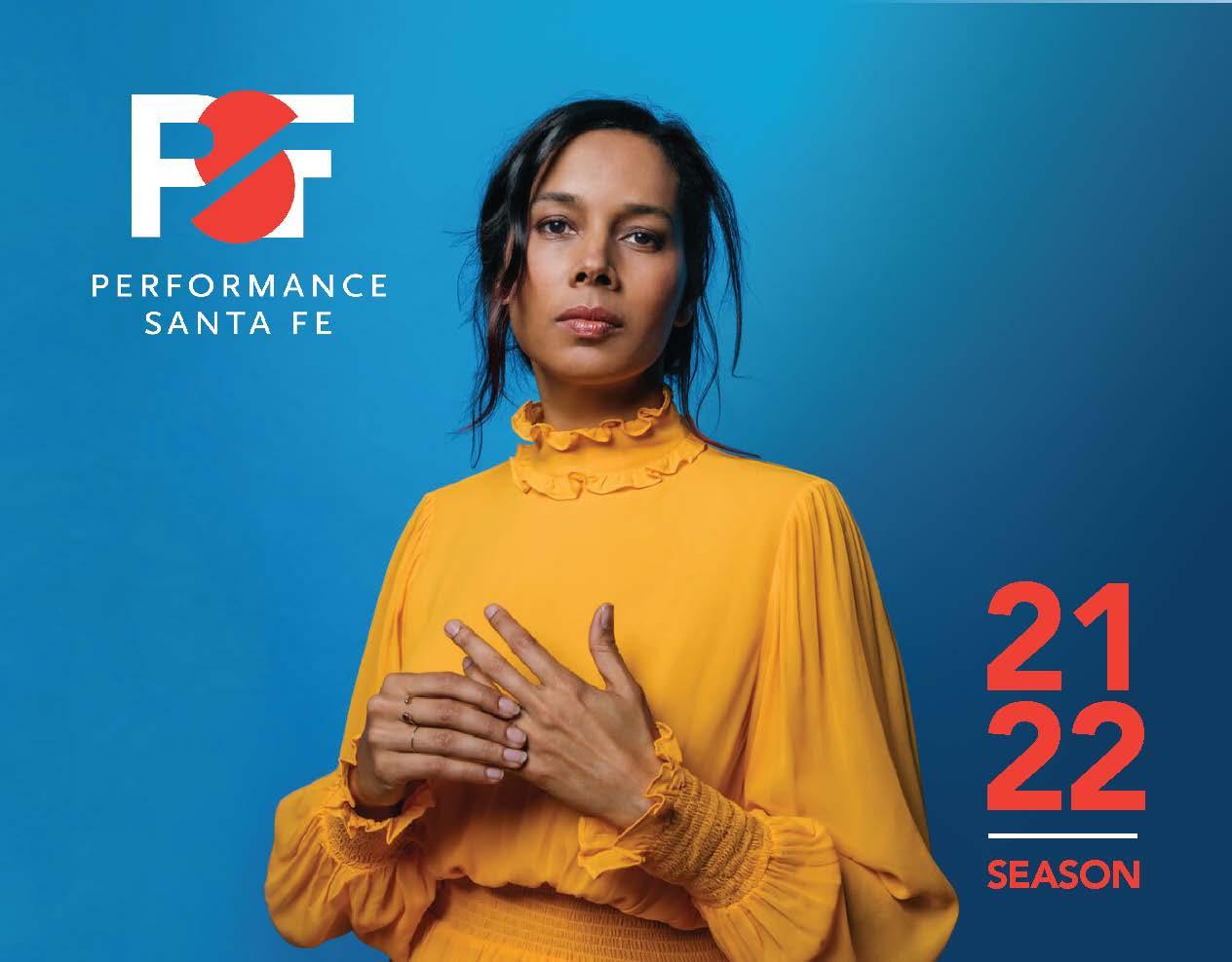 Performance Santa Fe 2021-2022 Brochure Cover
