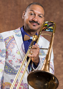 Performance Santa Fe<br>Delfeayo Marsalis with The Uptown Jazz Orchestra