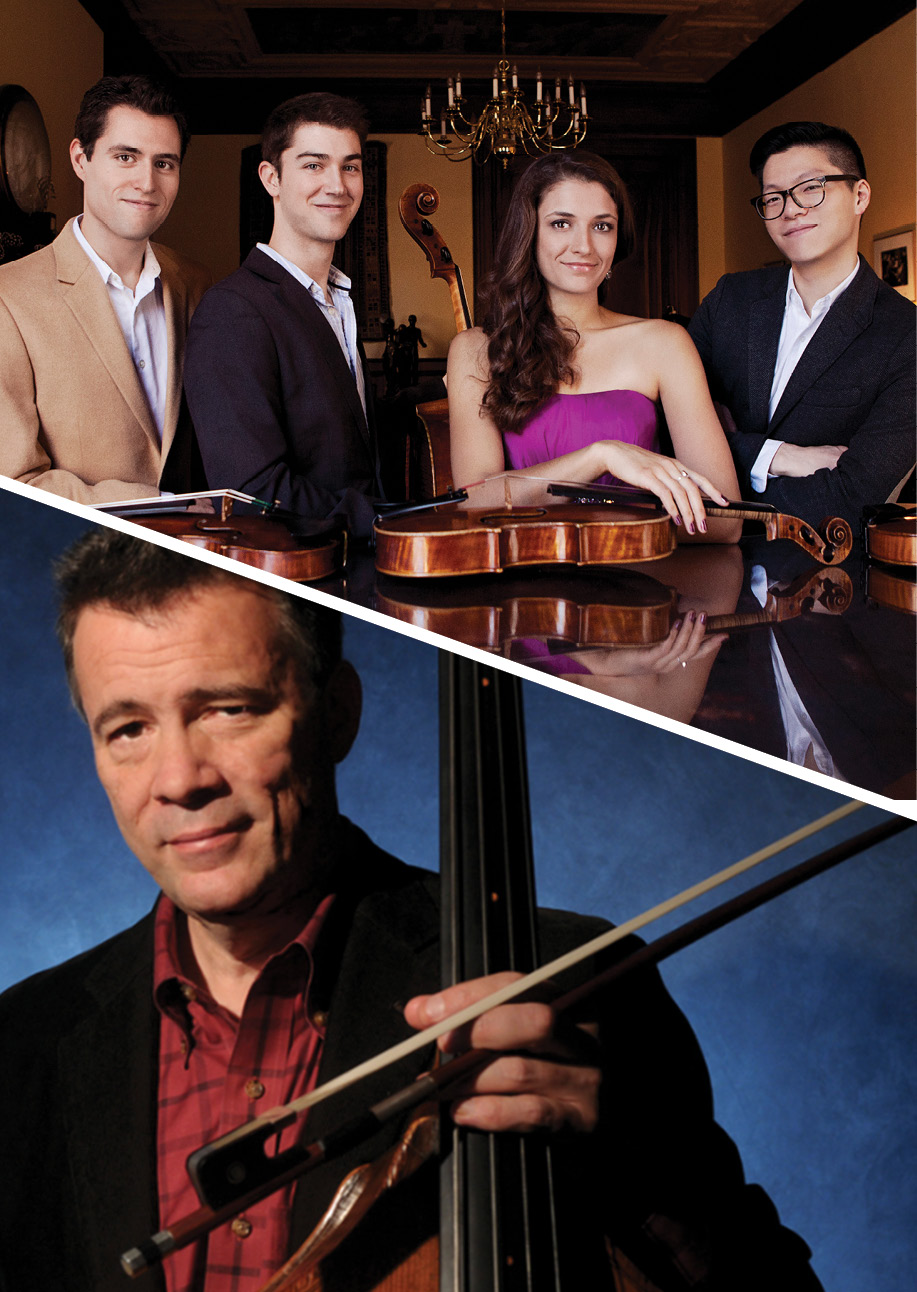 Performance Santa Fe<br> Dover Quartet with Edgar Meyer