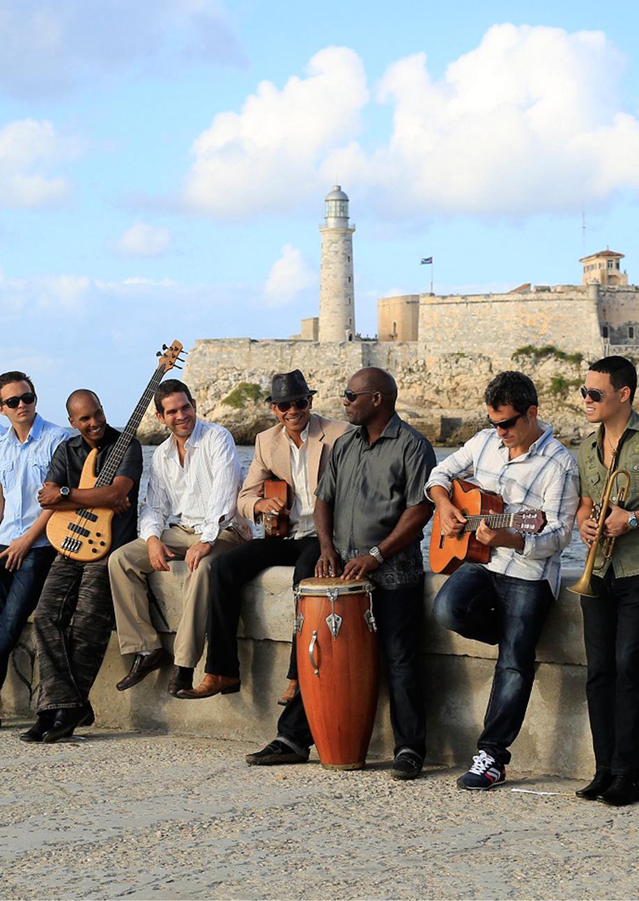 Performance Santa Fe<br> Havana Cuba All-Stars
