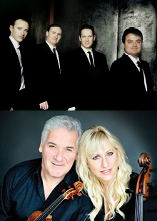 Performance Santa Fe<br> Jerusalem Quartet<br> with Pinchas Zukerman<br> & Amanda Forsyth<br>
