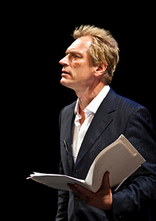 Performance Santa Fe<br> A Celebration of Harold Pinter:  Starring Julian Sands