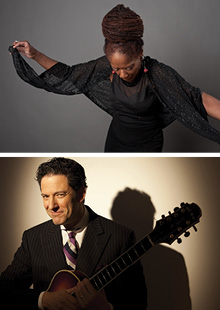 Performance Santa Fe<br> Catherine Russell and John Pizzarelli